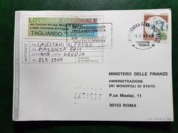 (20098) STORIA POSTALE ITALIA 1996 - 6. 1946-.. Repubblica