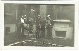 """Foto/Carte Photo. Militaria. Humour. Soldats. """"Vive La Crasse"""". 1947/1948 - Guerre, Militaire"""