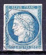 France Yv 4, Cachet Octogonal - 1849-1850 Cérès