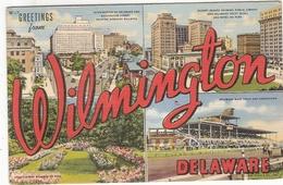 CP Wilmington Multi Vues Multivues View Greetings North Carolina Etats Unis Amerique - Wilmington