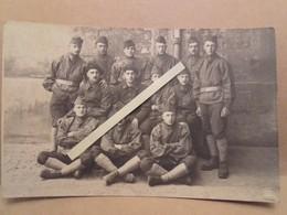 1918 1930 Chasseurs à Pieds 64 Eme Bataillon Tenue De Travail Poilus Ww1 1WK 1914 1918 14-18 - War, Military