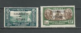WALLIS Scott 56, 75 Yvert 78, 84 (2) ** Cote 3,30$ 1939 - Wallis-Et-Futuna