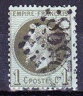 France-Yv 25, GC 2598 Nancy - Storia Postale (Francobolli Sciolti)