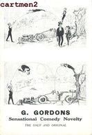 G. GORDONS COMEDY NOVELTY ACROBATIE AUTOMOBILE TROUPE SPECTACLE CIRQUE CIRCUS PHENOMENE - Zirkus