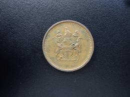RHODDÉSIE : 1 CENT   1974   KM 10    TTB - Rhodesia