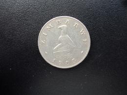 ZIMBABWE : 20 CENTS   1983    KM 4     TTB - Zimbabwe