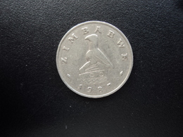 ZIMBABWE : 20 CENTS   1987    KM 4     TTB - Zimbabwe