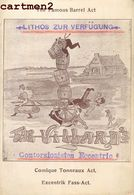 THE VILLARD'S CONTORSIONISTES BARREL ACT TONNEAUX EQUILIBRISTE CLOWN ACROBATE CIRQUE CIRCUS PHENOMENE BARCELONA - Zirkus