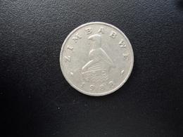 ZIMBABWE : 20 CENTS   1988    KM 4     TTB - Zimbabwe