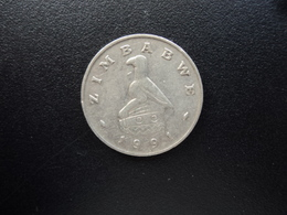 ZIMBABWE : 20 CENTS   1991    KM 4     TTB - Zimbabwe