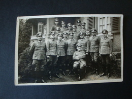 Fotokarte 2. WK., Gruppenkarte Mit EK 2 Träger - Dokumente