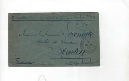 Tresor Postes 601   HOPITAL DE CAMPAGNE Pour Menton    20-12-17 - - Guerre De 1914-18