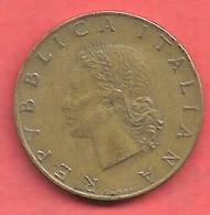 20 Lire , ITALIE , Alu-Bronze , 1957 , N° KM # 97.1 - 20 Lire
