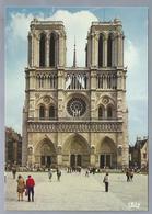 FR.- PARIS. PARIJS. Facade De Notre Dame. - Notre-Dame De Paris
