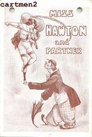 MISS HAWTON AND PARTNER ACROBATE COMEDIANS EXENTRICS CLOWN VIOLON MUSICIENNE CIRQUE CIRCUS PHENOMENE - Circus
