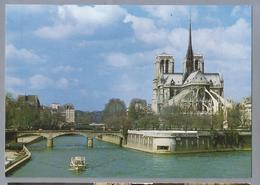 FR.- PARIS. PARIJS. Notre Dame. Cote Abside. - Notre-Dame De Paris