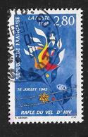"""FRANCE 2965 Commémoration De La Rafle Du 16 Juillet 1942 Dite """"rafle Du Vel D'Hiv"""" - Oblitérés"""