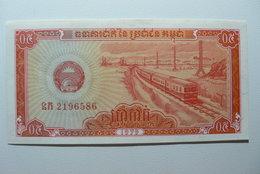 CAMBODIA - CAMBODGE - BILLETE DE 0,5 RIELS - Cambodia