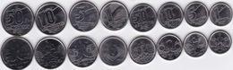 Brazil - 1 5 10 50 Centavos 1 5 10 50 Cruzeiros 1989 - 1992 UNC Set 8 Coins Ukr-OP - Brasile