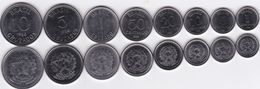 Brazil - 1 5 10 20 50 Centavos 1 5 10 Cruzeiros 1986 - 1988 UNC Set 8 Coins Ukr-OP - Brasile
