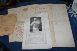 Petit Lots De Papiers Liés à Un Cuisinier Connu De Toulon, Louis Rouanet Dit Migratti, Années 30 - Historische Documenten