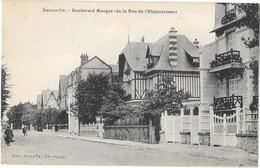 DEAUVILLE  (14) Boulevard Mauger Et Rue De L'Hippodrome - Deauville