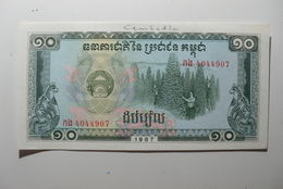 CAMBODIA - CAMBODGE - BILLETE DE 10 RIELS - Cambodia