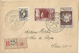 France Enveloppe 1er Jour 1944 - Journée Du Timbre