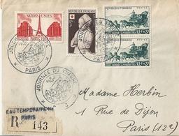 France Enveloppe 1er Jour 1952 - Journée Du Timbre