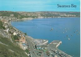 CP -  THE KNAB AND SWANSEA BAY  - Non Ecrite - - Pays De Galles