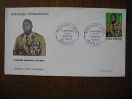 FDC Enveloppe République Centrafrique Bangui 1967 - Tunisia (1956-...)