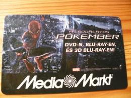 Media Markt Gift Card Hungary - Spiderman - Cartes Cadeaux