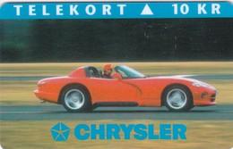 Denmark, P 014B, Mint, Chrysler, Only 1000 Issued, Car. - Danimarca