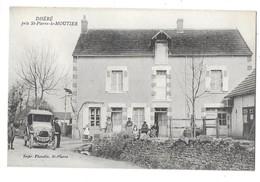 DHERE Près SAINT PIERRE LE MOUTIER (58) Rue Habitation Automobile - Saint Pierre Le Moutier