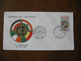 FDC  Côte D'Ivoire  Abidjan  1960 - Ivory Coast (1960-...)