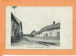 CPA - Une Rue De Dernancourt -(Somme) - Francia