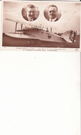 NUNGESSER ET COLI - Les Héros Du Raid Paris New York Et L'avion Marin P. Levasseur Moteur Lorraine Diétrich - Aviateurs