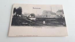 *'WACHTEBEKE  De Overledebrug Le Pont D'Overlede  -  Oblitérée En 1904 - Wachtebeke