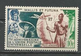 WALLIS Scott C10 Yvert PA11 (1) *LH Cote 12,50$ 1949 - Wallis-Et-Futuna