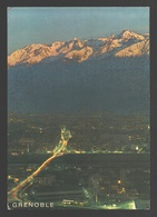 Grenoble - Grenoble Au Crèpuscule - Les Boulevards Et Belledonne - Grenoble