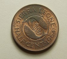 Sierra Leone 1/2 Cent 1964 - Sierra Leone