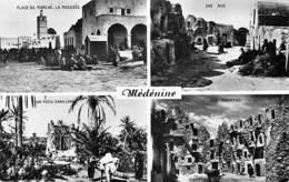 Afrique- Tunisie MEDENINE Multi Vues  (- Edition Sud Photo 37* PRIX FIXE - Tunisia