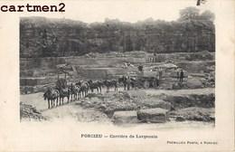 PORCIEU CARRIERE DE LARGENAIE 38 ISERE - Francia