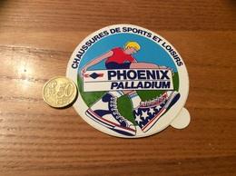 AUTOCOLLANT, Sticker * «CHAUSSURES DE SPORTS ET LOISIRS - PALLADIUM - PHOENIX» (PONT DE CHÉRUY (38) - Autocollants