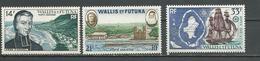 WALLIS Scott C12-C14 Yvert PA15-PA17 (3) *LH Cote 18,00$ 1955-60 - Neufs