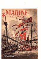 Rare Marine Nationale N°20 De Juin 1946 Revue Mensuelle Couverture De Pierre Joubert - Books, Magazines, Comics