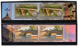 Georgia / South Ossetia 2018 EUROPA  Bridges( Flag ,Arms). 4v:20,20,30,30 - Georgia