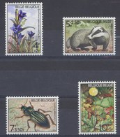 1974 Nr 1738-41** Solidariteit.Fauna & Flora,postfris Zonder Scharnier. - Belgique