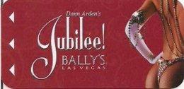 Jubilee-Create-by-Donn-Arden-Bally--s[810-2] ---Hotelkarte, Hotel Room Keycard, Room Keys, Clef De Hotel-- - Hotelkarten