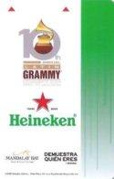 Mandalay-Bay---Heineken-10th-Annual-Latin-Grammy -805--Hotelkarte, Hotel Room Keycard, Room Keys, Clef De Hotel-- - Hotelkarten